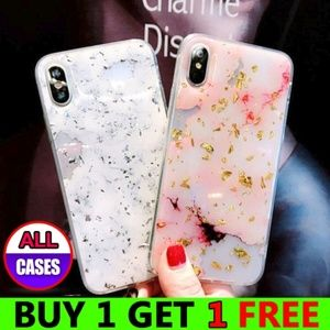 Accessories - *NEW iPhone Max/XR/XS/X/7/8/Plus Marble Case